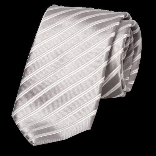 krawatte grau wei g nstige online krawattenmode. Black Bedroom Furniture Sets. Home Design Ideas