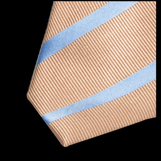 krawatte beige blau g nstige online krawattenmode. Black Bedroom Furniture Sets. Home Design Ideas