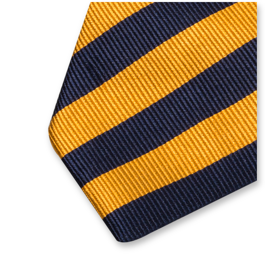 krawatte gelb dunkelblau g nstige herrenmode. Black Bedroom Furniture Sets. Home Design Ideas