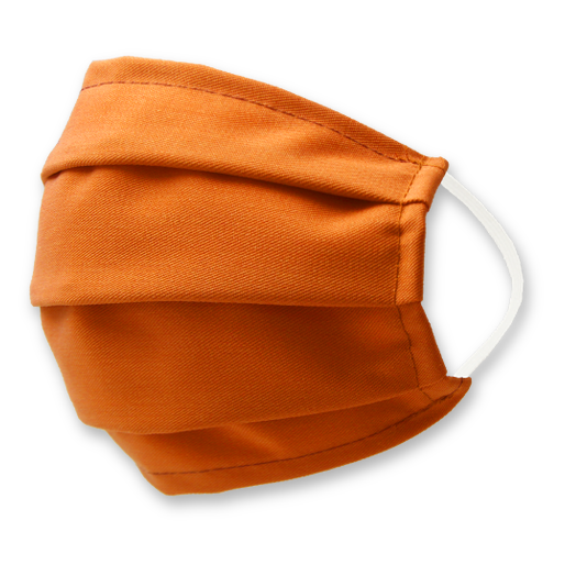 Orange Gesichtsmaske - E.L. Cravatte (1)