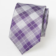 Krawatten gemustert