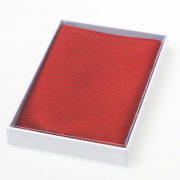 Seidentuch - rot